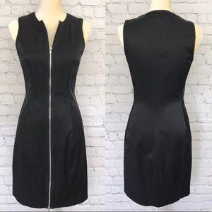 Cache - Sexy Black Zipper Front Dress, Sz 8